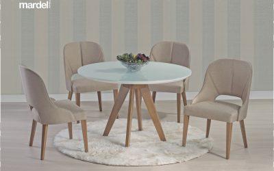Mardel mesa Sandy 04 cadeiras